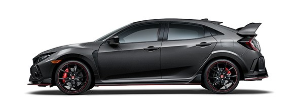 2018 Honda Civic Type R Polished Metal Metallic