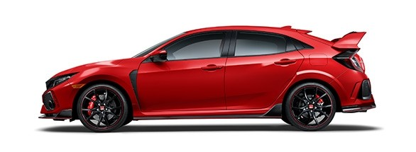 2017 Honda Civic Type R Rallye Red