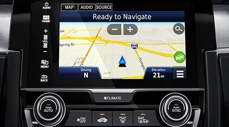 2017 Honda Civic Navigation