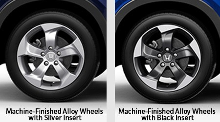 2018 Honda HR-V with 17-in Alloy Wheels
