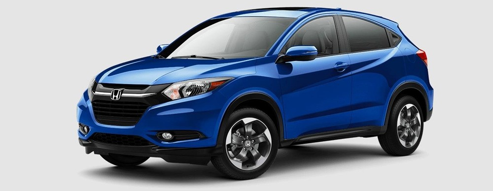 2018 Honda HR-V in Aegean Blue Metallic