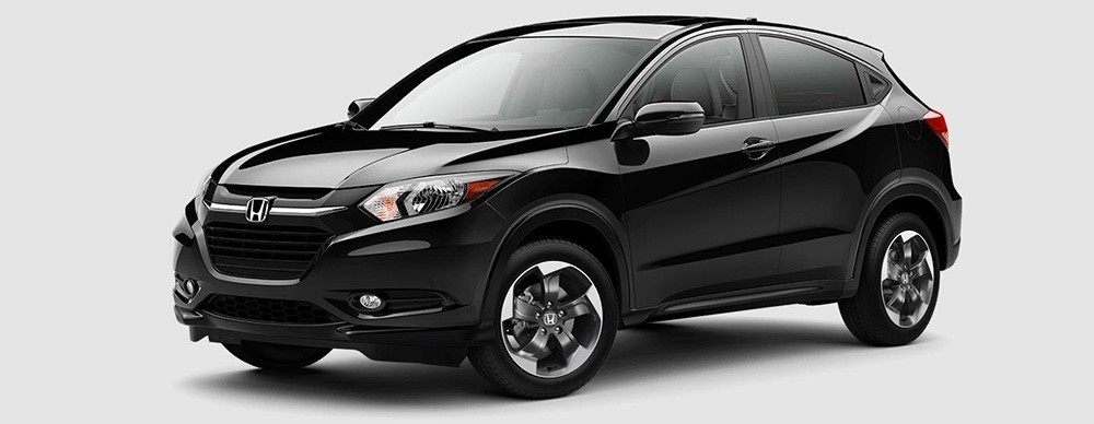2018 Honda HR-V in Crystal Black Pearl