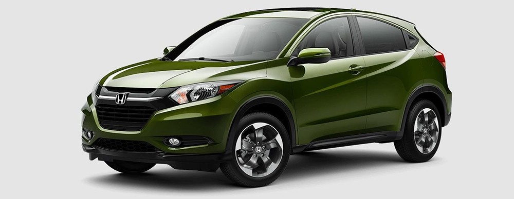 2018 Honda HR-V in Misty Green Pearl