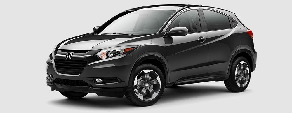 2018 Honda HR-V in Modern Steel Metallic