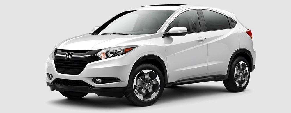 2018 Honda HR-V in White Orchid Pearl