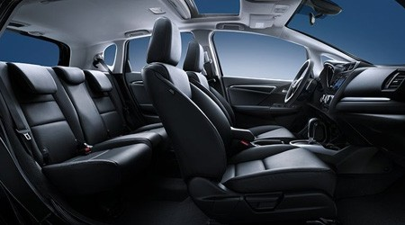 2018 Honda Fit with Leather Trimmed Interior