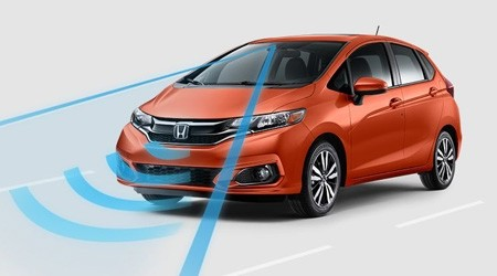 2018 Honda Fit with Honda Sensing