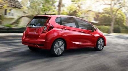 2018 Honda Fit in Milano Red