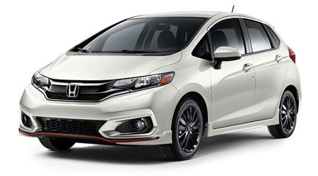 2018 Honda Fit Sport with Underbody Spoilers