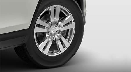 2018 Honda Pilot 18 inch alloy wheels