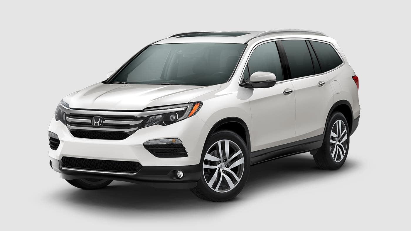 2018 Honda Pilot White Diamond Pearl