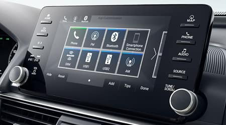 2018 Honda Accord Display Audio Touchscreen