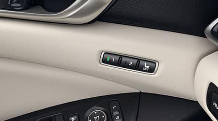 2018 Honda Accord Driver Seat Memory