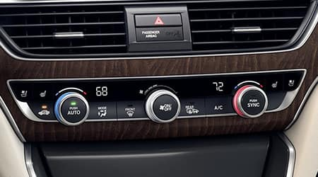 2019 Honda Accord Dual-Zone Climate Control