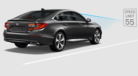 2018 Honda Accord Honda Sensing Traffic Sign Recognition TSR