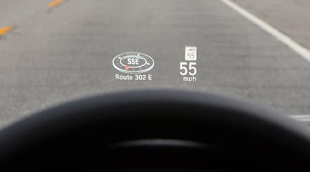 2018 Honda Accord head up display