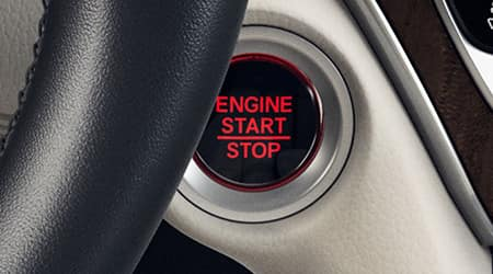2018 Honda Accord Push Button Start