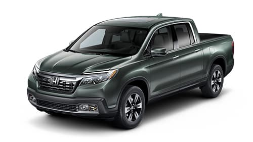 2019 Honda Ridgeline Forest Green Pearl