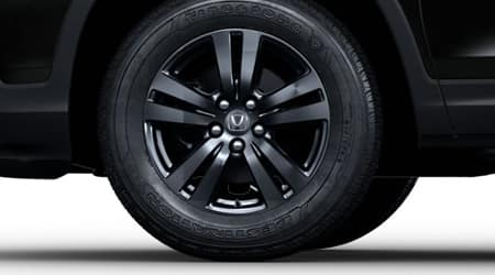 2020 Honda Ridgeline 18-inch Gray-Painted Wheels