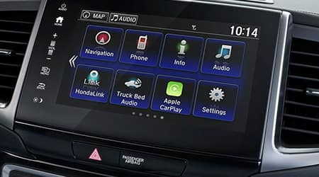 2018 Honda Ridgeline Display Audio Touch-Screen