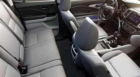 2020 Honda Ridgeline Leather Trimmed Interior