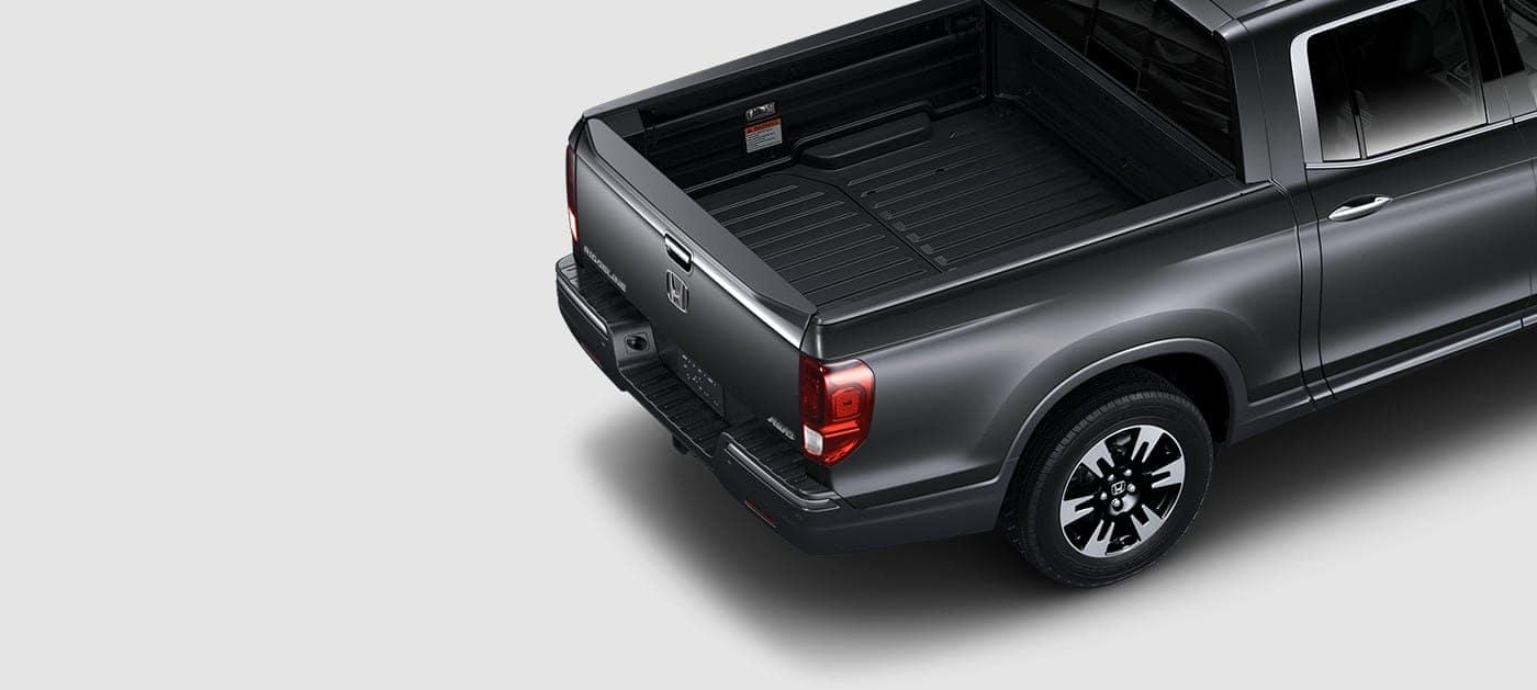 2019 Honda Ridgeline Truck Bed Cargo Room
