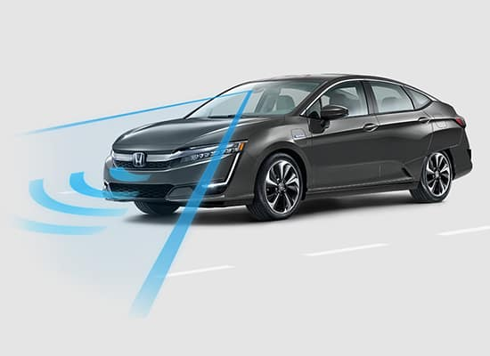 2020 Honda Clarity Plug-In Hybrid with Honda Sensing