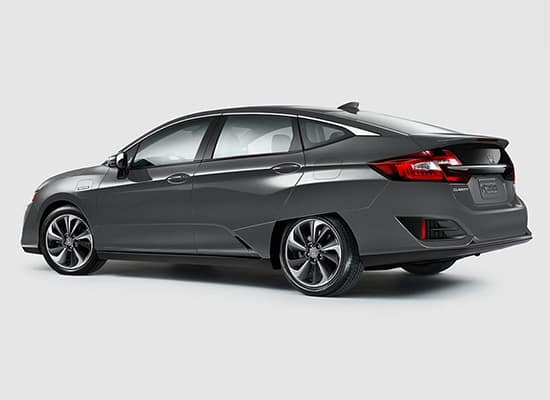 2019 Honda Clarity Plug-In Hybrid Rear Driver Sideview