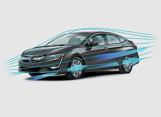2018 Honda Clarity Plug-In Hybrid Dynamic Body Shape