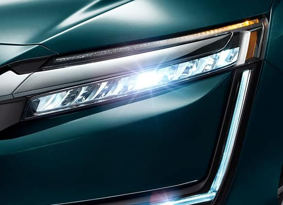 2019 Honda Clarity Plug-In Hybrid LED Headlights with Auto High Beams