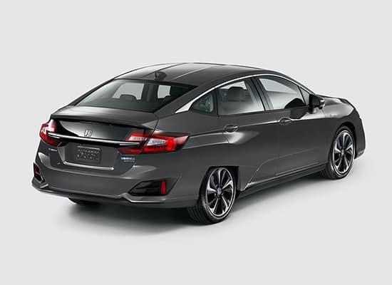 2020 Honda Clarity Plug-In Hybrid Rear Passenger Sideview
