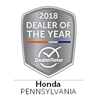 2018 Dealer of the Year Award