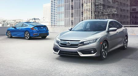 2018 Honda Civic Sedan and Coupe