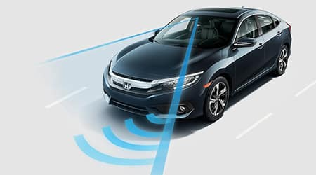 2018 Honda Civic and Honda Sensing