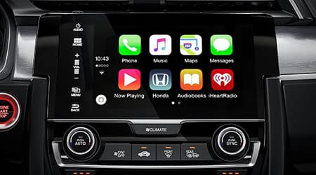 2018 Honda Civic Apple CarPlay