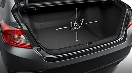 2018 Honda Accord Trunk Space