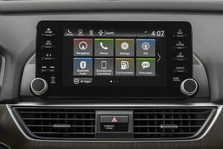 2018 Honda Accord Radio (Connect a smartphone)