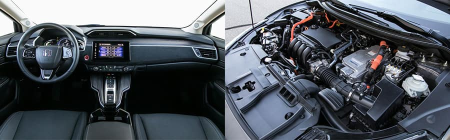 Honda Clarity Engine and Interior