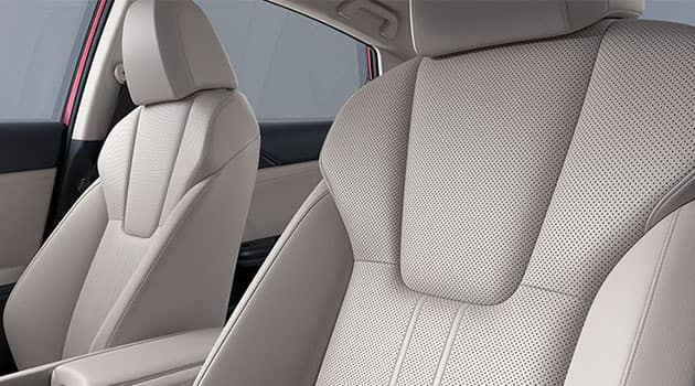 2021 Honda Insight Hybrid with leather-trimmed seating