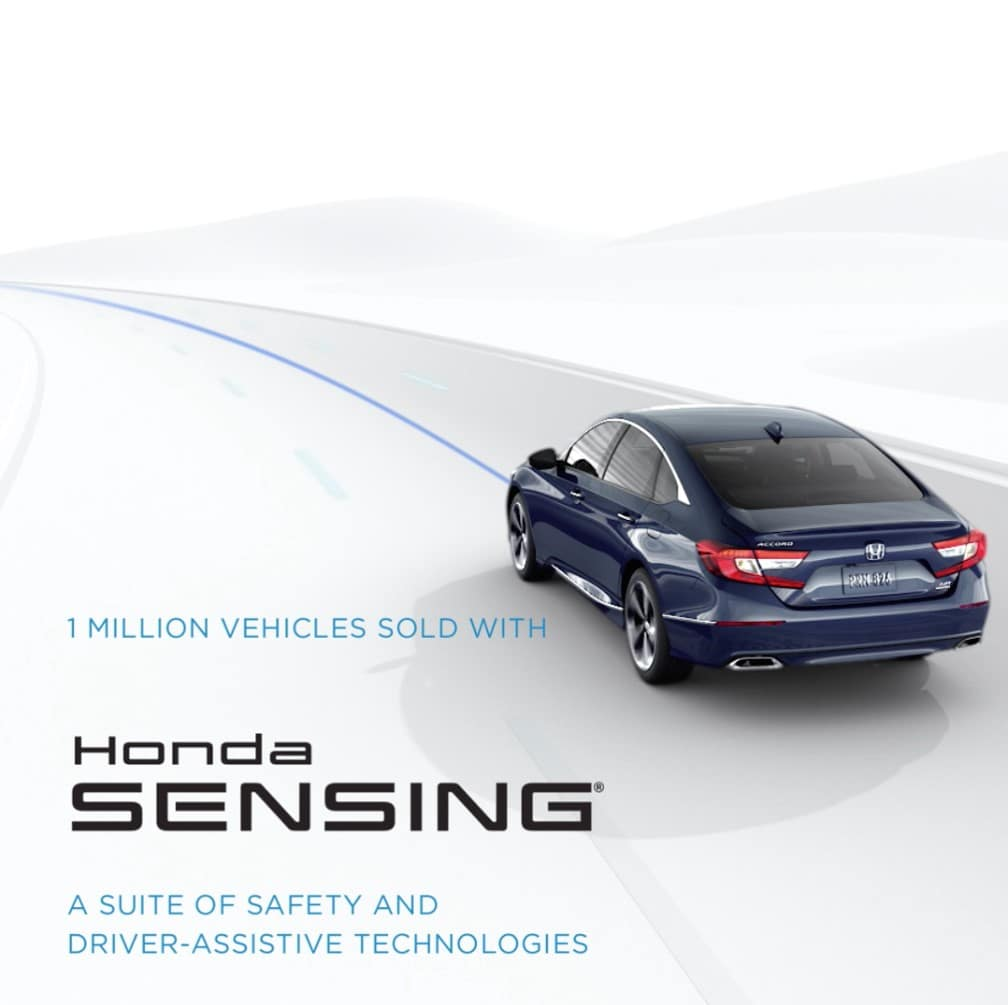 Honda Sensing Equipped Vehicles - Did You Know