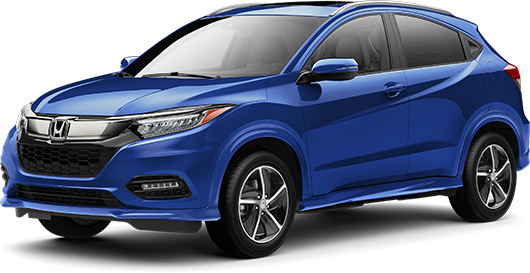 2020 Honda HR-V Touring in Aegean Blue Metallic