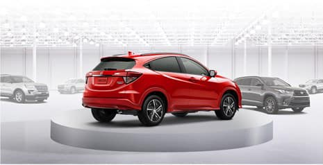 2020 Honda HR-V versus the competition