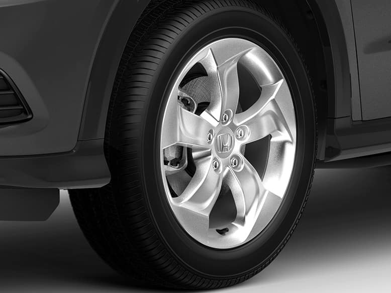 2020 Honda HR-V 17-Inch Silver Painted Alloy Wheels