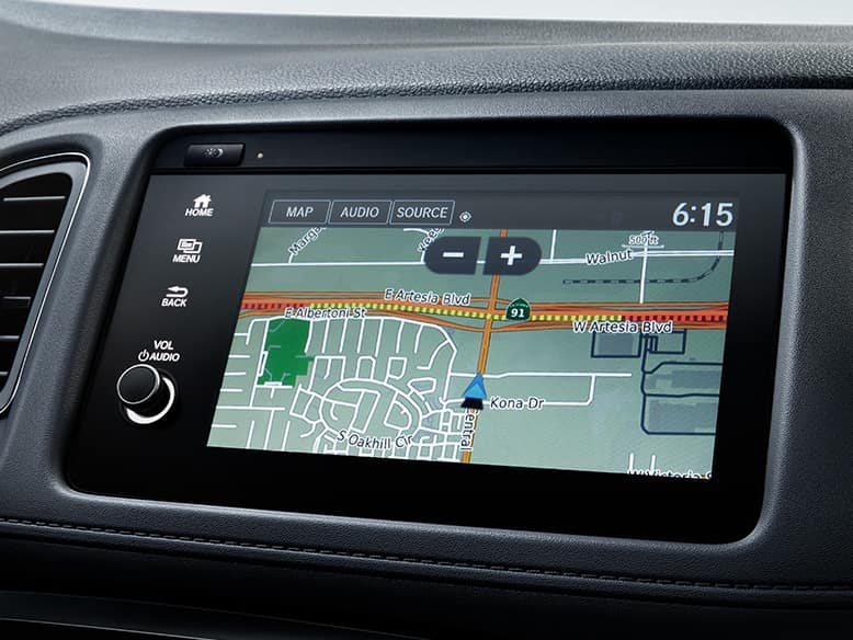 2020 Honda HR-V with Satellite-Linked Navigation System