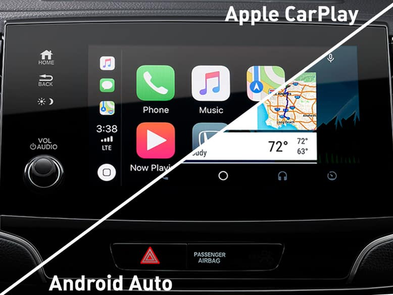 2019 Honda Pilot with Apple CarPlay and Android Auto