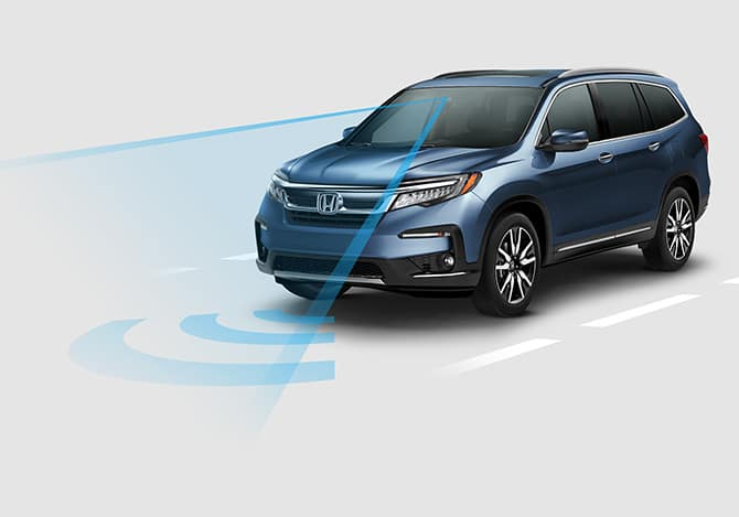 2019 Honda Pilot with Honda Sensing Standard on every trim