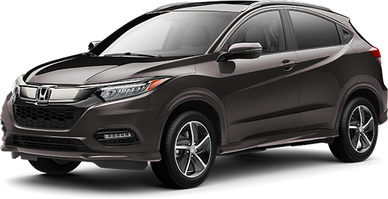 2020 Honda HR-V in Midnight Amethyst Metallic