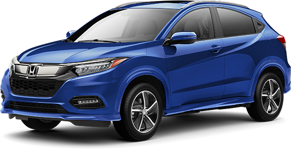 2020 Honda HR-V in Aegean Blue Metallic