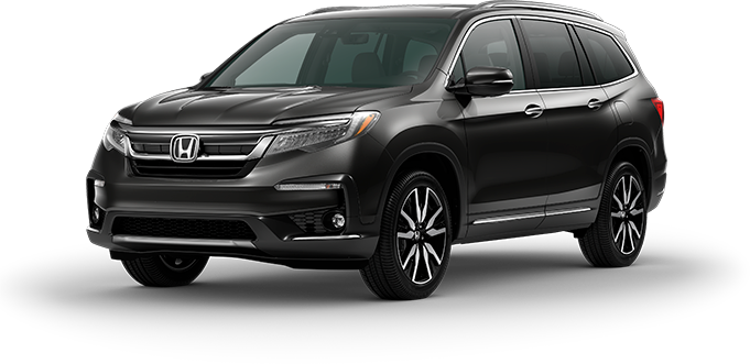 2019 Honda Pilot in Modern Steel Metallic