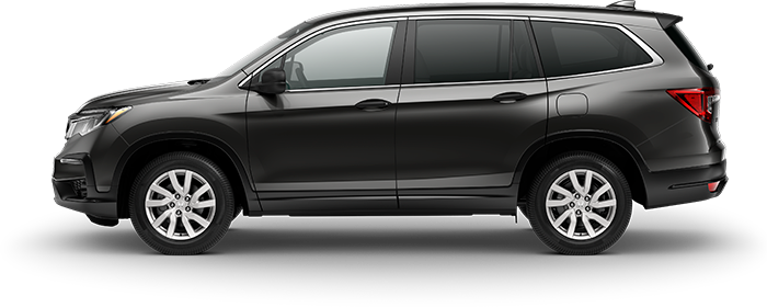 2019 Honda Pilot LX in Modern Steel Metallic